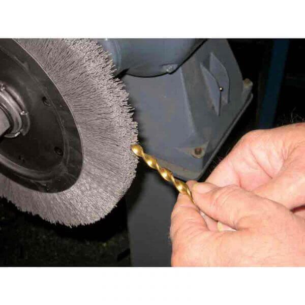 PFERD RBU SiC дисковые щетки в работе