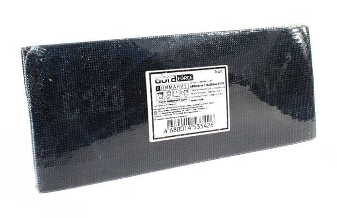 Сетка шлифовальная 115 х 280 мм
