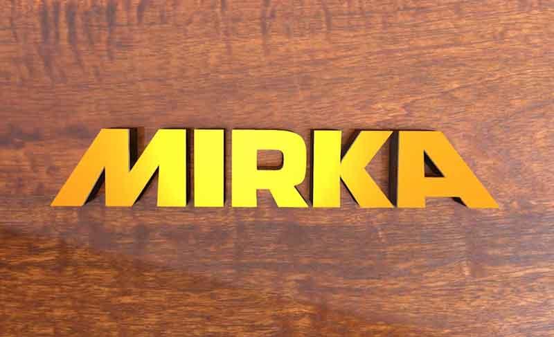 Технология полировки фасада Mirka