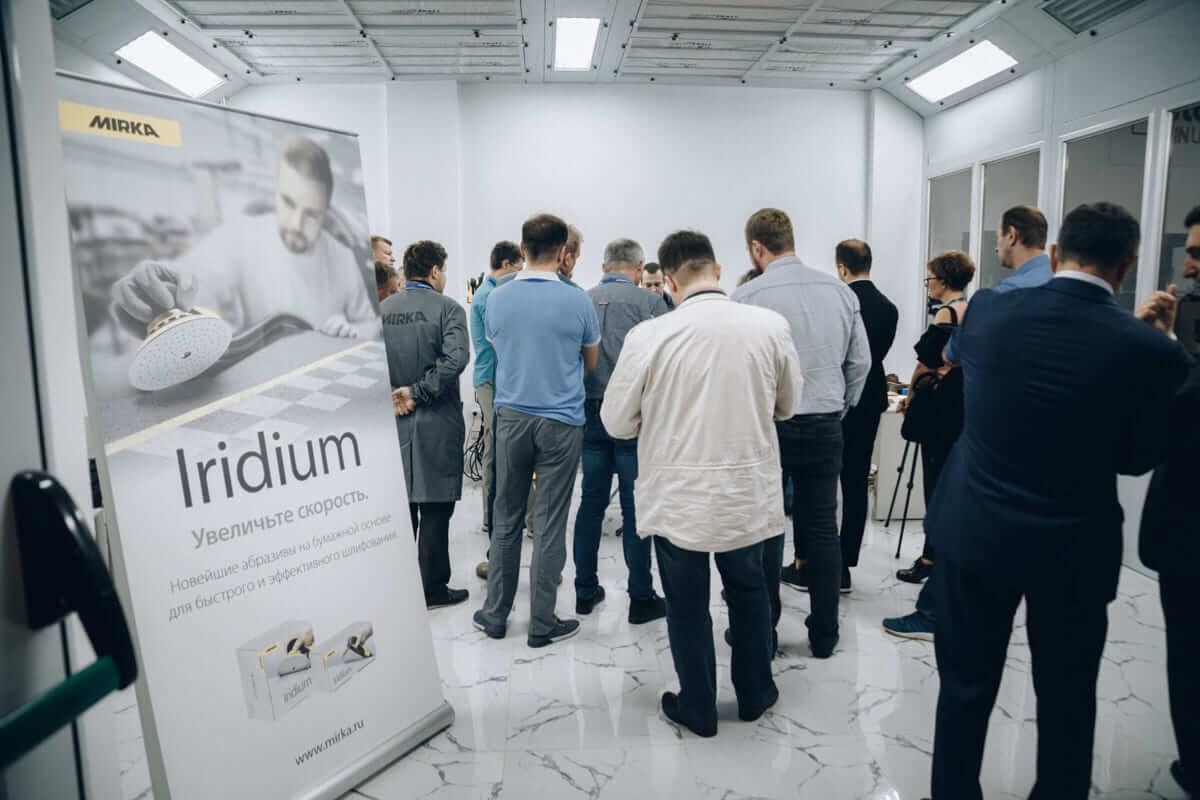 Novostar и Iridium презентация абразивов Мирка фото 4