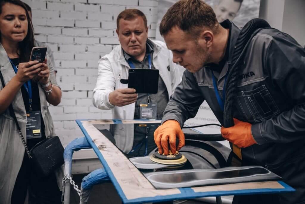 Novostar и Iridium рабочий процесс инновационных абразивов Мирка