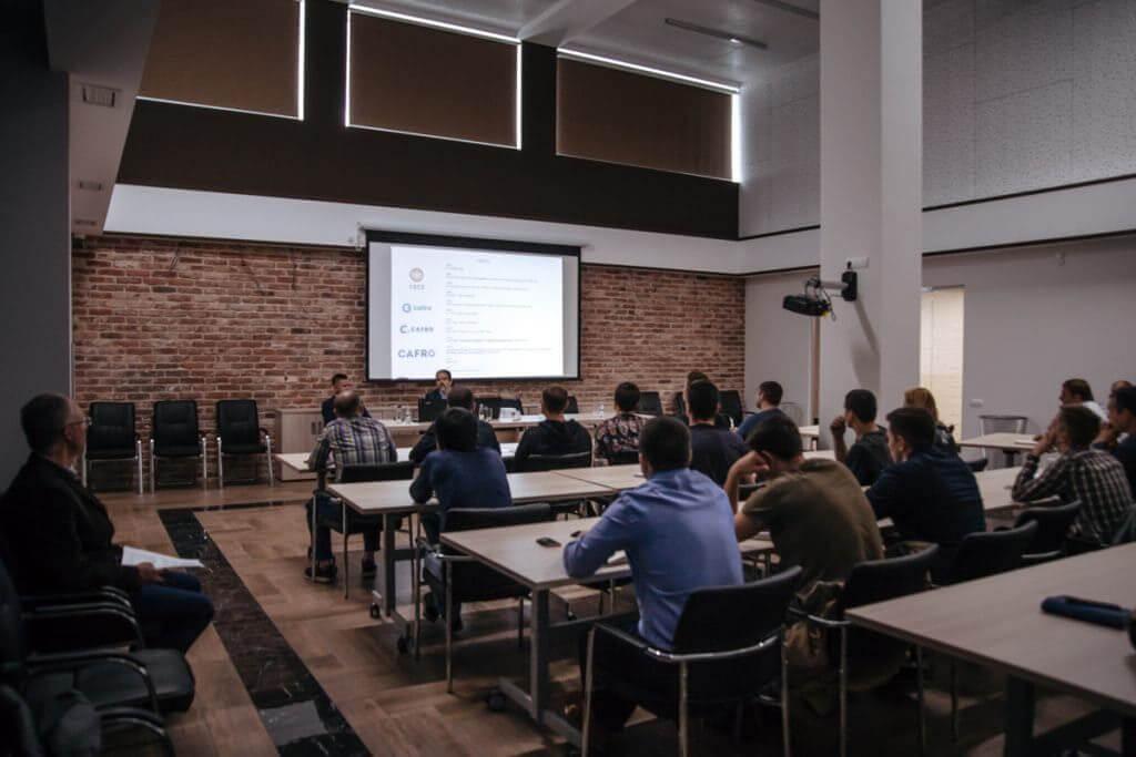 Презентация инновационных инструментов Cafro в России