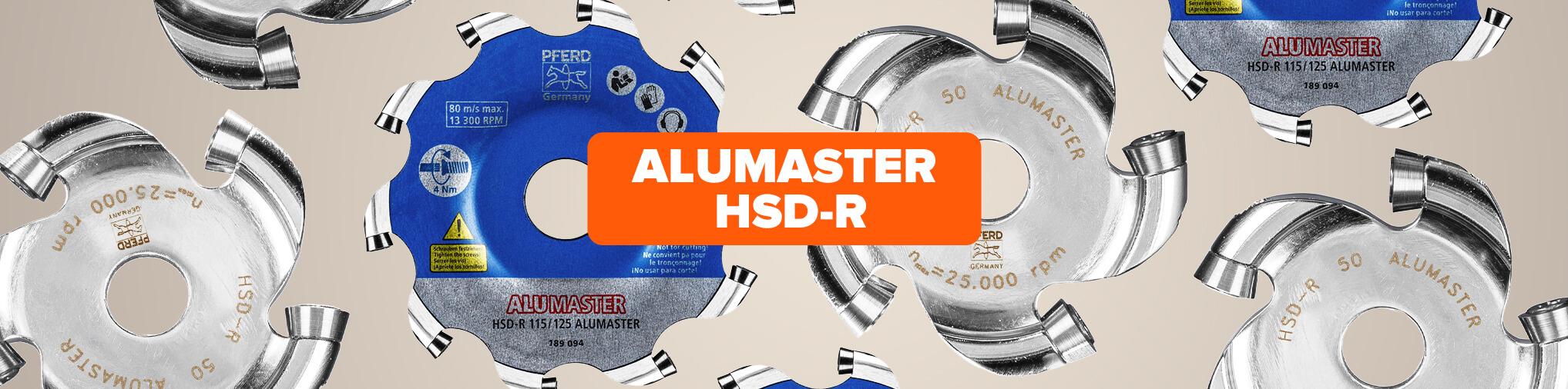Новинка ALUMASTER HSD-R