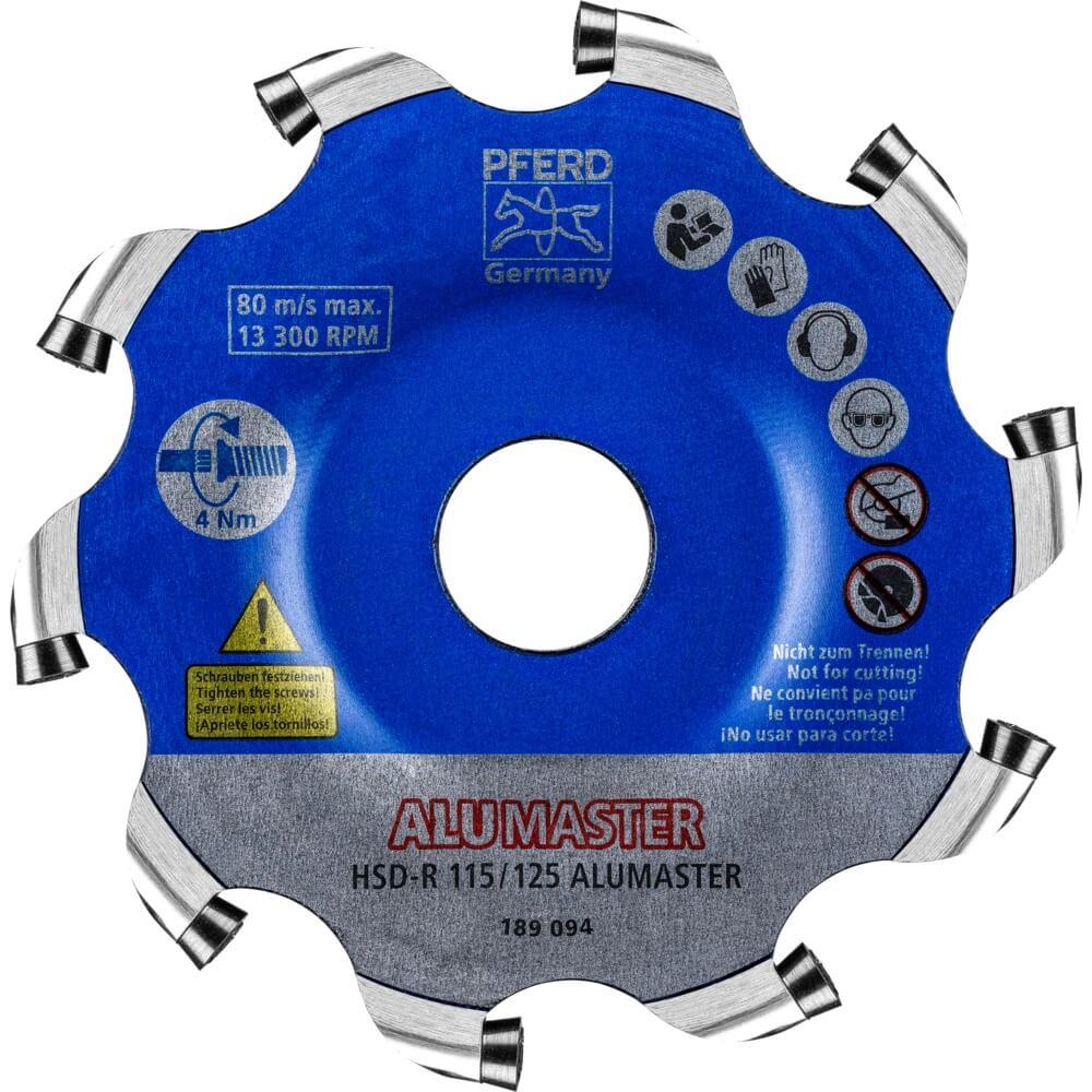 Высокоскоростные диски Alumaster HSD PFERD фото 1