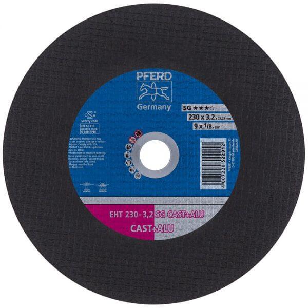 Отрезные диски PFERD SG CAST+ALU для сложных условий
