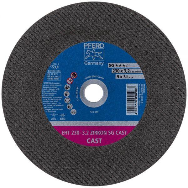 PFERD ZIRKON SG CAST отрезные диски