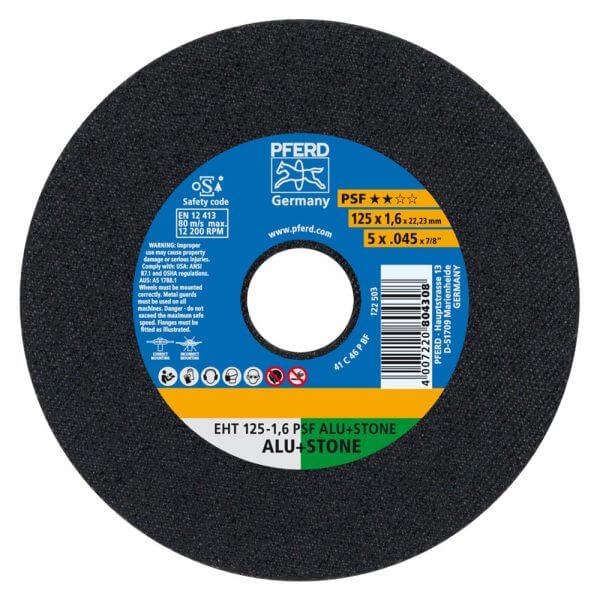 Отрезные диски PFERD PSF ALU+STONE