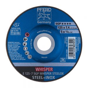 PFERD SGP WHISPER STEELOX