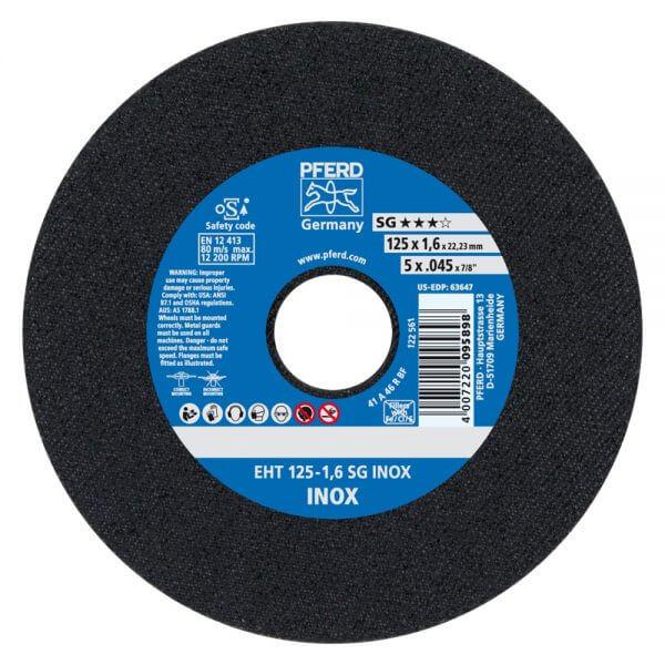 PFERD SG INOX обдирочный диск