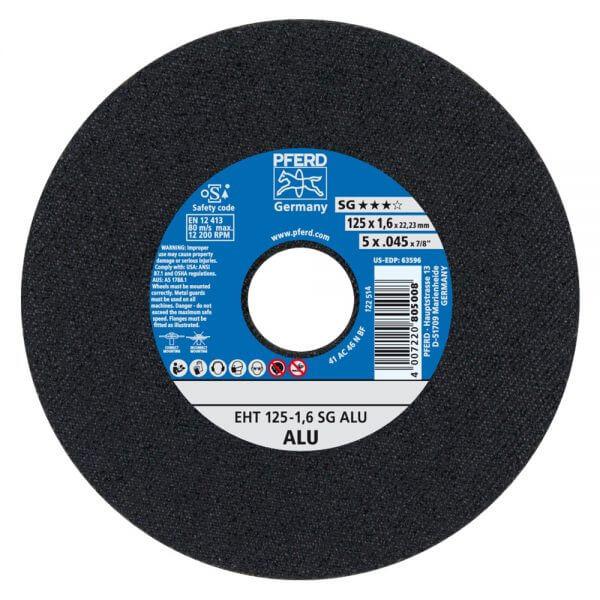 Отрезные диски PFERD SG ALU для алюминия