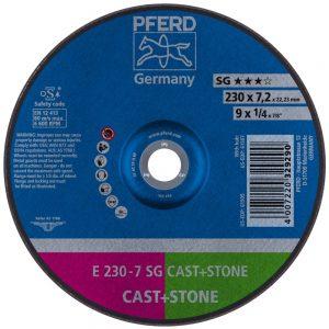 обдирочный круг PFERD SG CAST+STONE