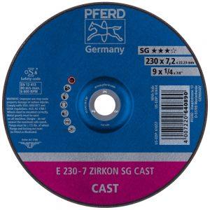 Обдирочный круг PFERD ZIRKON SG CAST