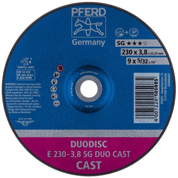 PFERD SG DUODISC CAST